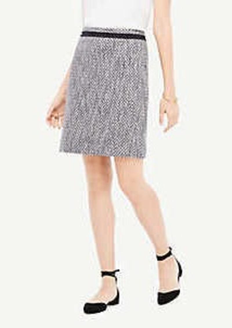 Ann Taylor Tall Mixed Tweed Skirt