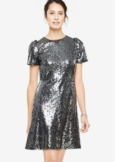 Tall Sequin Sheath Dress