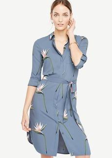 Tall Tropical Shirt Dress