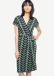 Tall Verbena Short Dolman Sleeve Wrap Dress