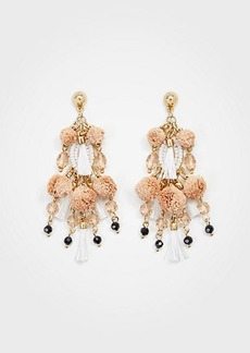 Ann Taylor Tassel Cluster Statement Earrings