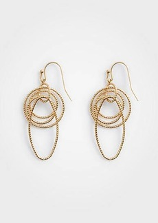 Ann Taylor Textured Chain Link Earrings