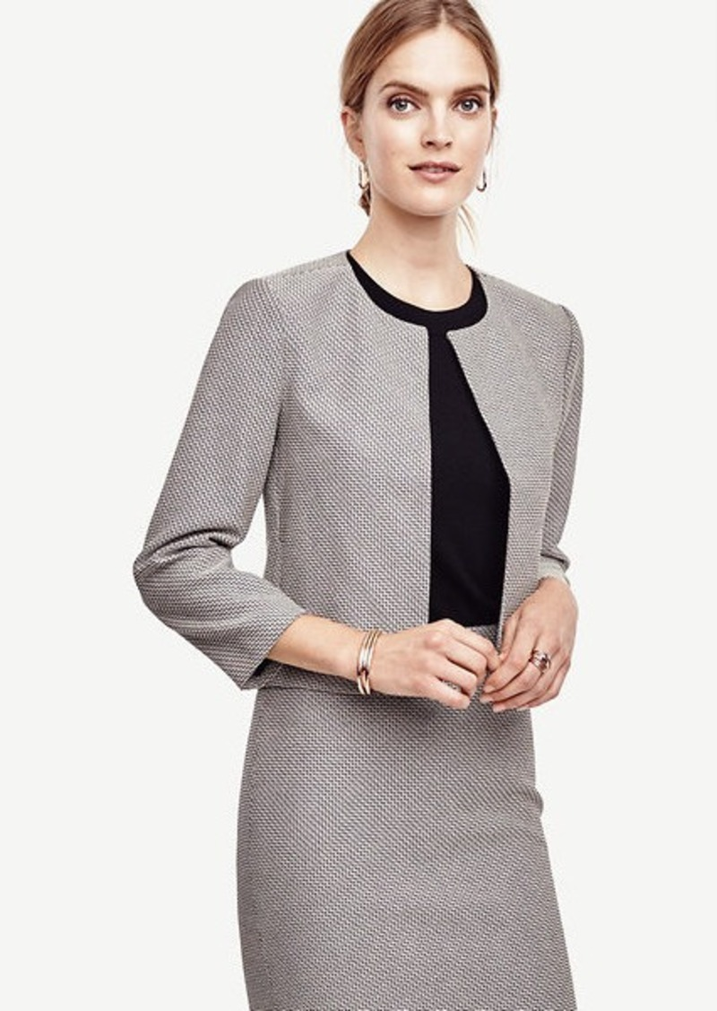 Ann Taylor Textured Jacket