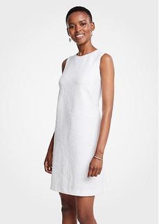 Ann Taylor Textured Knit Shift Dress