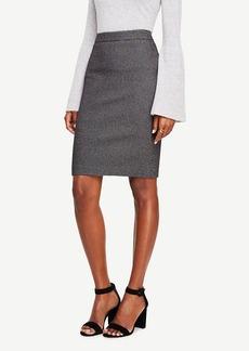 Ann Taylor Textured Pencil Skirt