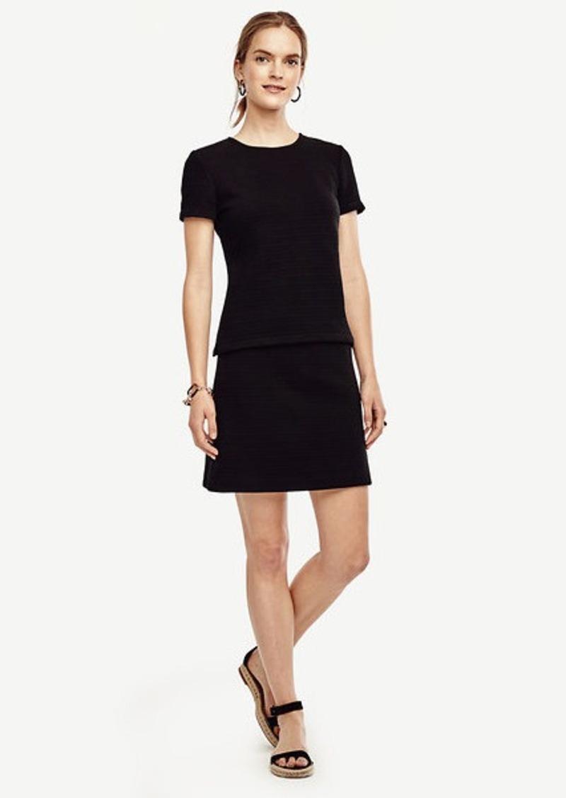 Ann Taylor Textured Skirt