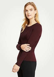 Ann Taylor Textured Stripe Sweater