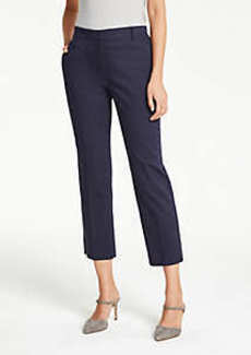 Ann Taylor The Ankle Pant in Cotton Sateen - Curvy Fit