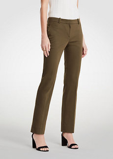 Ann Taylor The Ankle Pant In Cotton Sateen