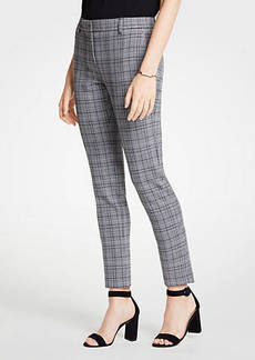 Ann Taylor The Ankle Pant In Dash Plaid