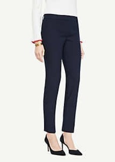 Ann Taylor The Ankle Pant In Cotton Twill - Curvy Fit