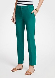 Ann Taylor The Ankle Pant In Dense Twill - Curvy Fit