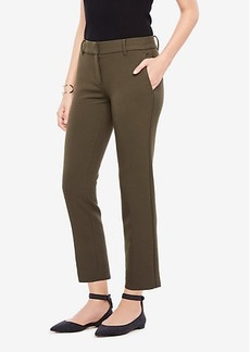 Ann Taylor The Ankle Pant In Double Cloth