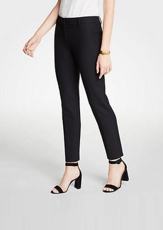 Ann Taylor The Ankle Pant In Doublecloth - Curvy Fit