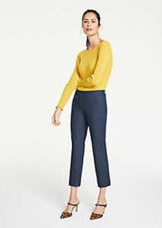 Ann Taylor The Ankle Pant In Faux Denim