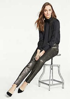 Ann Taylor The Ankle Pant In Golden Shimmer