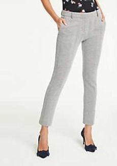 Ann Taylor The Ankle Pant In Herringbone Knit - Curvy Fit