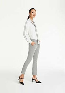 Ann Taylor The Ankle Pant In Herringbone Knit