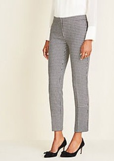 Ann Taylor The Ankle Pant In Houndstooth