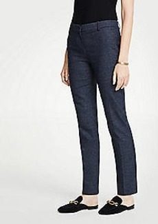 Ann Taylor The Ankle Pant In Mini Check - Curvy Fit