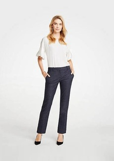 Ann Taylor The Ankle Pant In Mini Check