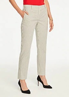 Ann Taylor The Ankle Pant In Mini Windowpane