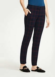 Ann Taylor The Ankle Pant In Plaid - Curvy Fit