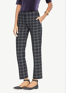 Ann Taylor The Ankle Pant In Plaid - Devin Fit
