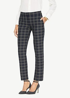 Ann Taylor The Ankle Pant In Plaid - Kate Fit