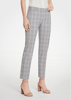 Ann Taylor The Ankle Pant In Plaid