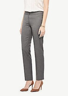 Ann Taylor The Ankle Pant In Sharkskin - Curvy Fit