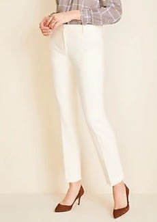 Ann Taylor The Ankle Pant in White - Curvy Fit