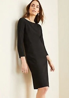 Ann Taylor The Boatneck Dress in Bi-Stretch