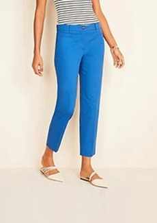 Ann Taylor The Cotton Crop Pant - Curvy Fit
