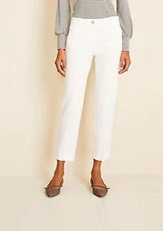 Ann Taylor The Cotton Crop Pant