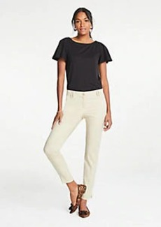 Ann Taylor The Cotton Crop Pant