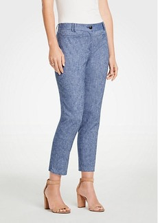 Ann Taylor The Crop Pant In Chambray - Curvy Fit