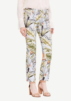 Ann Taylor The Crop Pant in Tropic Print - Kate Fit