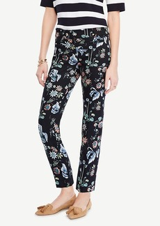 Ann Taylor The Crop Pant in Wild Flower - Devin Fit