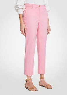 Ann Taylor The Curvy Ruffle Crop Pant