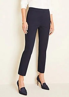 Ann Taylor The High Rise Ankle Pant in Cotton Twill