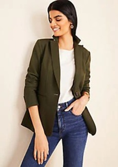 Ann Taylor The Hutton Blazer in Knit Twill