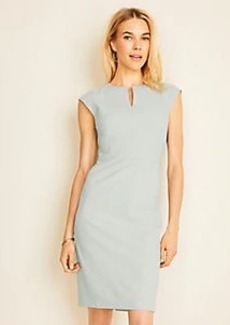 Ann Taylor The Keyhole Dress in End On End
