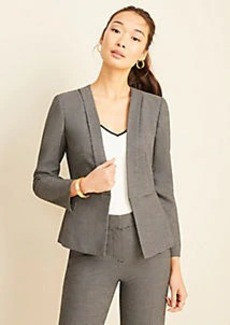 Ann Taylor The Lapel Jacket in Dobby