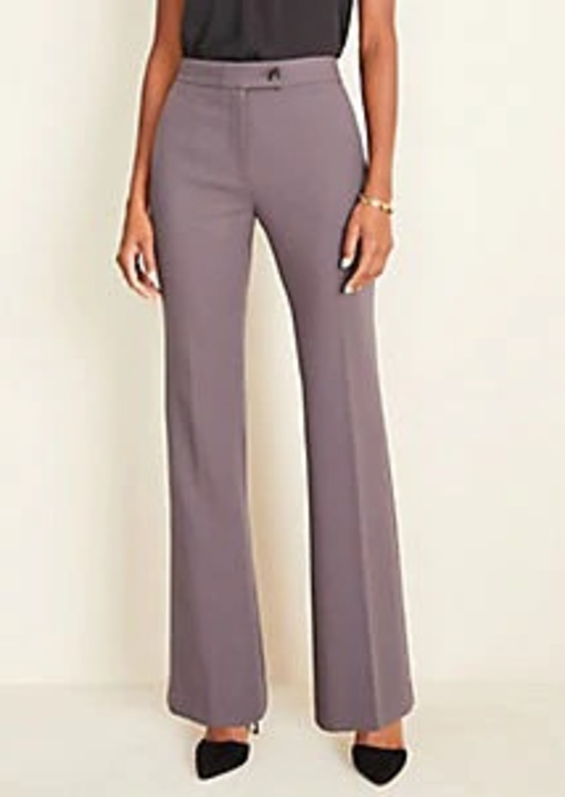 Ann Taylor The Madison High Waist Trouser In Twill - Curvy Fit