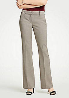 Ann Taylor The Madison Trouser In Check - Curvy Fit