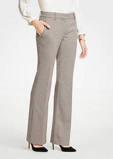 Ann Taylor The Madison Trouser In Check