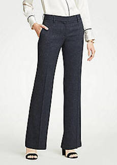 Ann Taylor The Madison Trouser In Speckled Twill - Curvy Fit