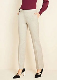 Ann Taylor The Marled Straight Pant