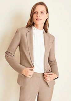 Ann Taylor The One-Button Blazer in Melange